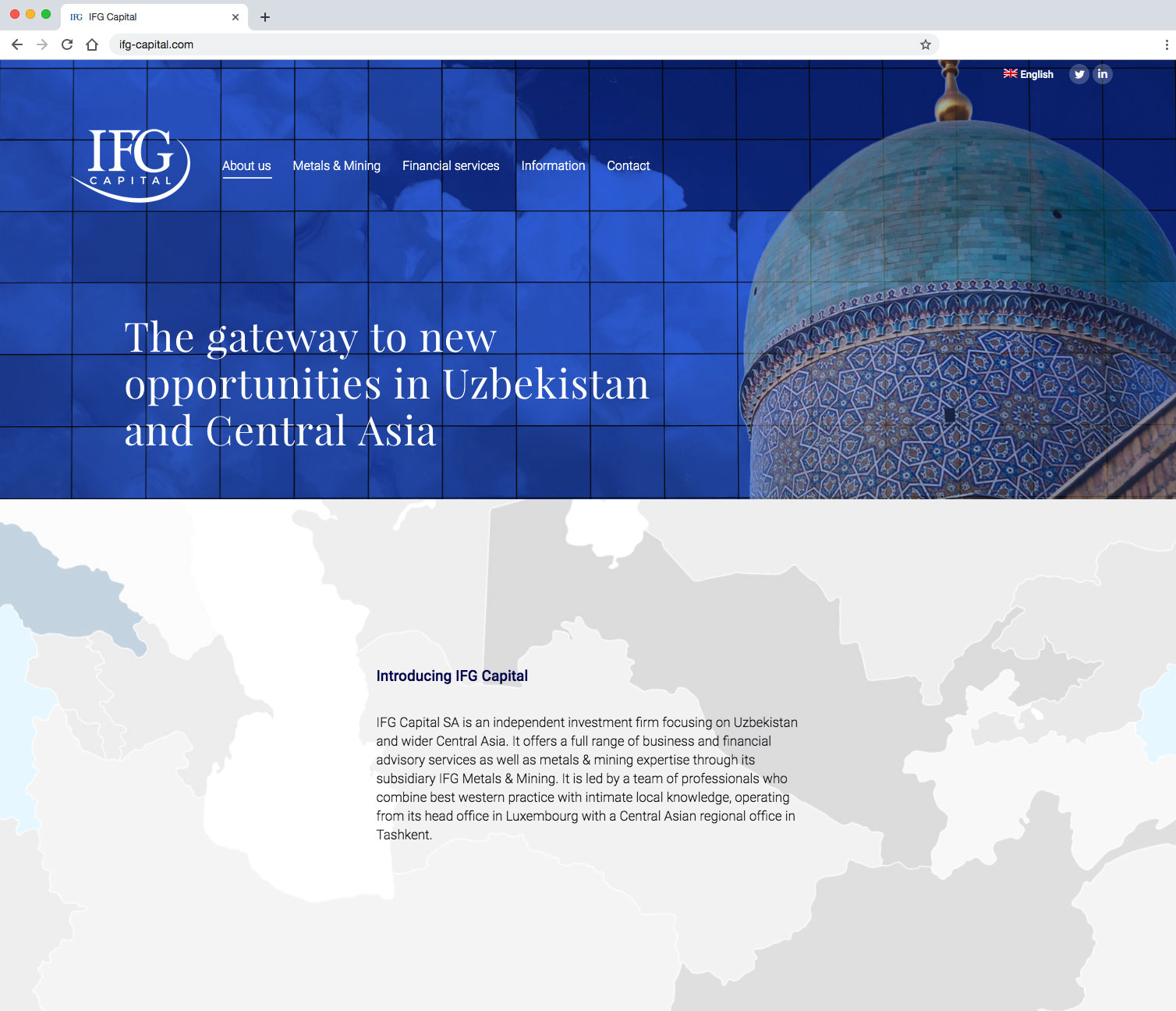IFG Capital - Home page